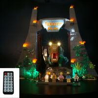 LED Light Kit For Jurassic Park: T. rex Rampage LEGO 75936 dinosaur park Bricks