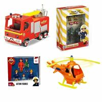 Fireman Sam Vehicles, Figure Packs & Accessories - Jupiter Titan Helicopter