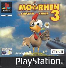 MOORHEN 3 for Playstation 1  PS1  PSX - with box & manual
