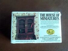 The House of Miniatures furniture kits - Closed Cabinet TOP LATE 1700'S