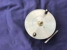 VINTAGE ALLOY/BRASS 4 INS CENTRE-PIN  REEL