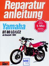 Reparaturanleitung Yamaha DT 80 LC / LC2 ab 1983  @ NEU & OVP @
