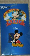 Collectors Disney Store 12 Months of Magic Pin-Indiana-Mickey - mint, sealed