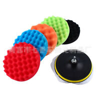 Buffing Sponge Polishing Pad Kit Waxing Set 5Pcs Car Auto Polisher
