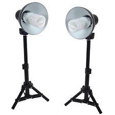 Kit Illuminatore 2x PS01 400W Lampada Luce con Cavalletto per Studio Foto Video