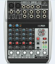 Behringer Q802USB 8-Input 2-Bus Mixer + Warranty