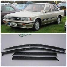 For Nissan Laurel (C32) 1984-1993 Window Visors Sun Rain Guard Vent Deflectors