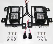 For 13-17 18 Dodge RAM1500 80W Dual LED Pods Foglight Location Bracket Wiring