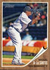 2011 Topps Heritage Minors Baseball #99 Miguel De Los Santos