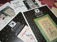 CS187, SALE, Snowmen, cross stitch charts, OOP, you choice of 3, NEW, OOP,