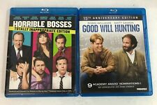 Lot of 2 Blu-ray Disc Movies Horrible Bosses and Good Will Hunting