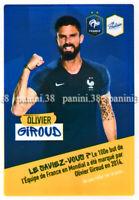 "RARE !! Sticker OLIVIER GIROUD ""EQUIPE DE FRANCE 2020"" like Panini Poulain"