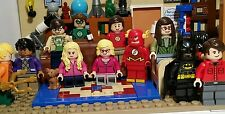 LEGO The Big Bang Theory 21302 SUPERHERO Version Minifigure for Special Gift