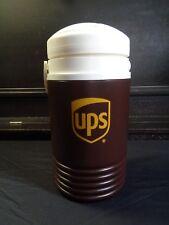 UPS  Igloo Water Jug 1/2 gallon Brown Logo Cooler