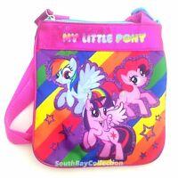 My Little Pony Kids Crossbody Bag Girls Purse Twilight Sparkle Rainbow Dash
