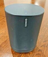 Sonos Move Wireless Portable Speaker - Black (MOVE1US1BLK) ; with charging base