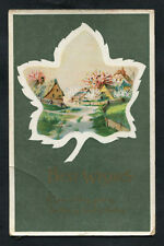 Posted 1915 to Baden Rd, Gillingham, Kent: Illustrated Birthday Card