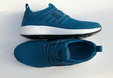 EMPORIO ARMANI EA7 Turquoise Trainers Sneakers Shoes Logo UK 5.5-11 BNWT/BOX