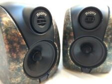 Rogers DB101 Speakers in green & gold marbled finish
