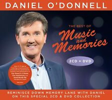 DANIEL O'DONNELL THE BEST OF MUSIC AND MEMORIES 2CD/DVD SET (February 19th 2016)