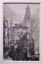 LATHBURY FAMILY (3) VIEGE OR VISP SWITZERLAND  M.A.L.LATHBURY PENCIL 1831