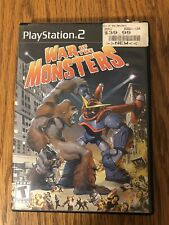 War of the Monsters Sony PlayStation 2 PS2 - Black Label - Disc & Case - Works