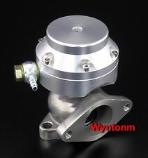 38MM 4 PSI External Wastegate Turbo Stainless Steel MINI Dump Valve Silver II