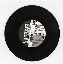 45 RPM SP PROMO LAID THENARDIER DOS AU MUR
