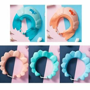 Baby Bath Hat Kids Shower Protect Eye Splash Guard Hair Wash Shield Infant Cap
