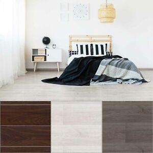 5m² Floor Planks Tiles Self Adhesive Grey Wood Vinyl Flooring Kitchen Bathroom