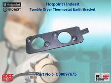 Hotpoint Tumble Dryer Thermostat Earth Bracket  Part No:- C00097675 / J00092945