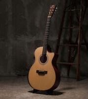 Bentivoglio Genuine 1013lvc OM Cutaway Sitka Spruce Mahogany Acoustic Guitar