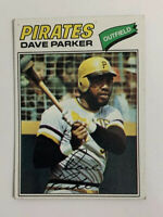 1977 Dave Parker # 270 Topps Baseball Card Pittsburgh Pirates