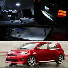 For 08-14 Toyota Scion xD White Xenon Interior LED Package Map Dome Trunk Plate