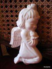 PETIT SWEET ange fille en stuc stuc magnifique plâtre Décoration