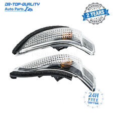 2X Left & Right Rearview Turn Signal Mirror Lamp For Toyota Corolla Avalon Prius