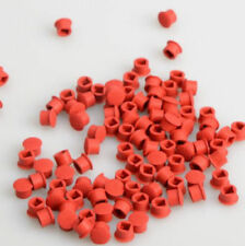 50pcs TrackPoint Keyboard Mouse Red Cap Soft Dome Laptop Pointer for IBM Lenovo