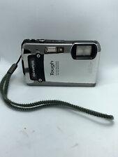 Olympus Tough TG-820 iHS 12.0MP Digital Camera - Silver 8gb SD Card No Charger