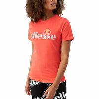 ELLESSE BARLETTA 2 TEE Womens T-Shirt Crew Neck Sports Summer Casual Cotton Top