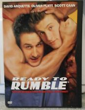 Ready to Rumble (DVD 2000)RARE DAVID ARQUETTE SCOTT CAAN SPORT COMEDY MINT DISC