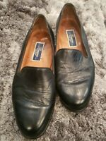 Men's Bragano by Cole Haan Low Cut Loafers Shoes Size 11 M Black Leather