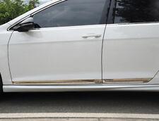 For VW Golf MK7 2013-2018 Stainless Chrome Car Side Body Molding Cover Trim 4pcs