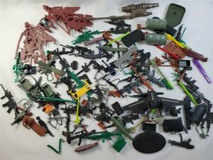 HUGE Weapons Lot! Transformers Halo GI Joe Soldiers Corps! Spawn Guns Missiles+