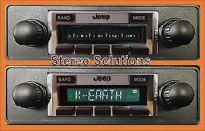 1981-1986 Jeep CJ 8 Scrambler NEW 300 watt AM FM Stereo Radio USB, Aux Inputs