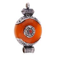 Nepal Handmade Vintage Jewelry Buddhist Tibetan Necklace DIY Pendants Craft