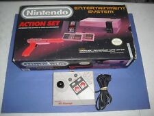 NES Action Set complete in box w/ Advantage controller GREAT COND for Nintendo!