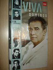 BOX 4 CD VIVA DOMINGO PLACIDO EMI CLASSICS CELEBRATING 50 YEARS OPERA