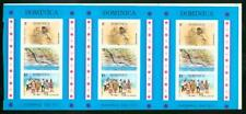 Dominica 1973 National Day SS PROOF STRIP OF THREE-2