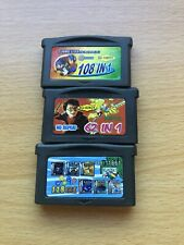 Gameboy Advance MultiCart Game Cartridges - Untested GBA - Pokemon Harry Potter