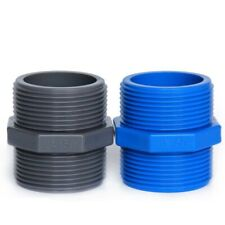 PVC Connectors Male Thread Joints Garden Irrigation Water Pipe Tank Tube Fitting
